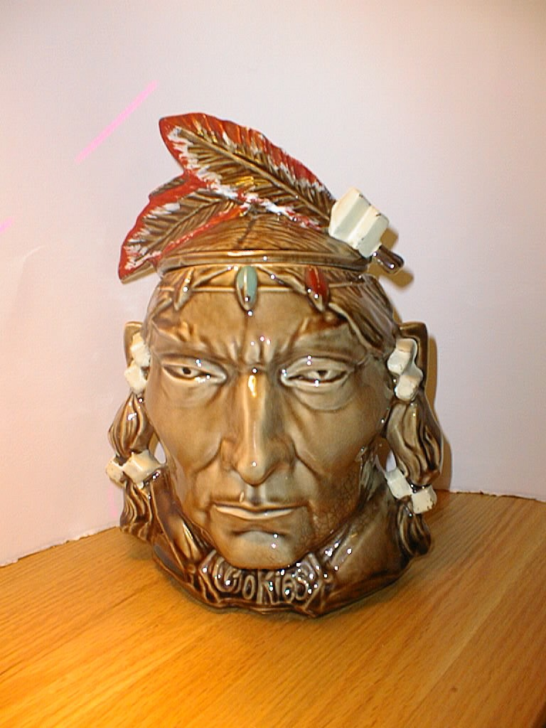 Indian Cookie Jar by McCoy