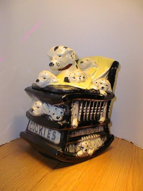 Rocking Chair Dalmatians by McCoy
