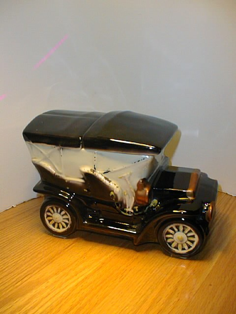 Touring Car Cookie Jar by McCoy