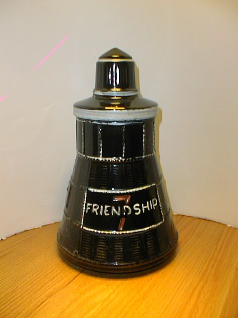 """Friendship 7"" Cookie Jar by McCoy"