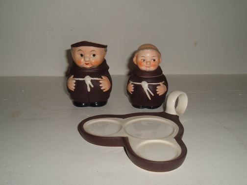GOEBEL - Friar Serving Tray w/Pitcher, Mustard Cup and Spoon