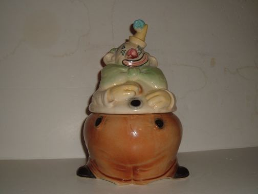 BRUSH - Clown Cookie Jar