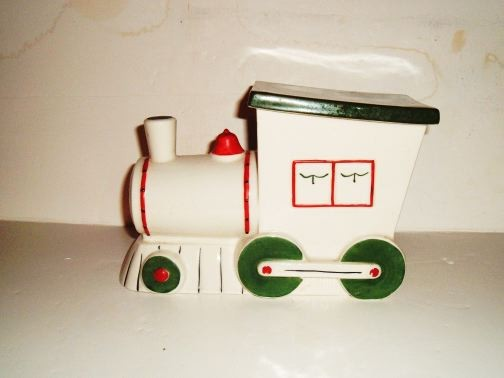 "ABINGDON - Choo Choo ""651"" Cookie Jar"