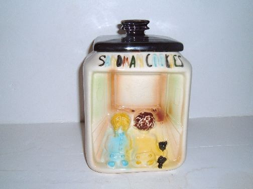 Sandman Cookie Jar