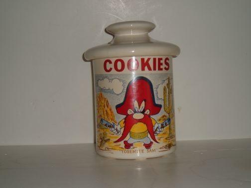 YOSEMITE SAM Cookie Jar