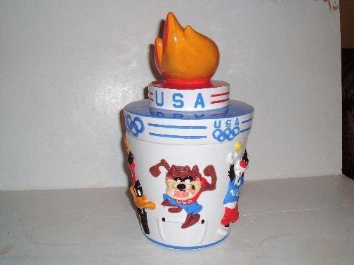 SUMMER OLYMPICS ATLANTA GAMES Cookie Jar