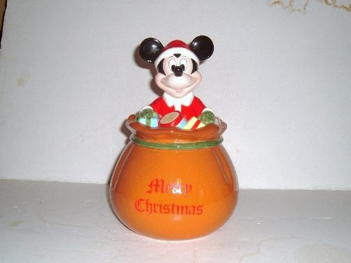 MICKEY TOY SACK Cookie Jar