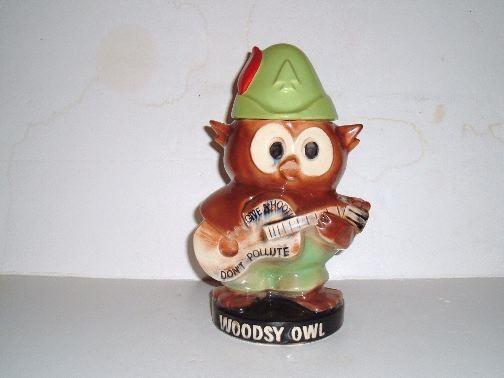 WOODSIE OWL Cookie Jar