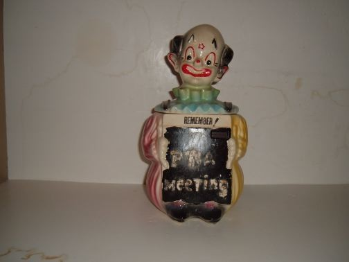 Blackboard Clown