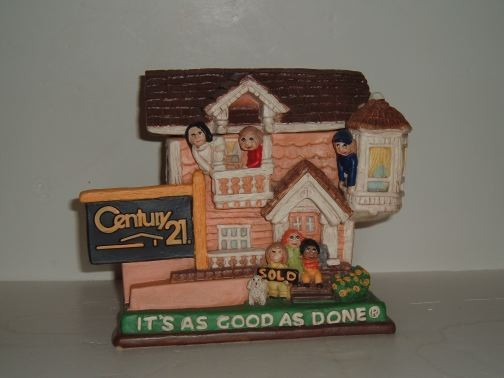Century 21 Cookie Jar by Gold Crest.