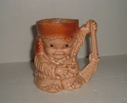 BRUSH - DAVY CROCKETT AS A BOY  Mug