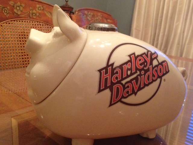 McCoy Harley Hog Cookie Jar