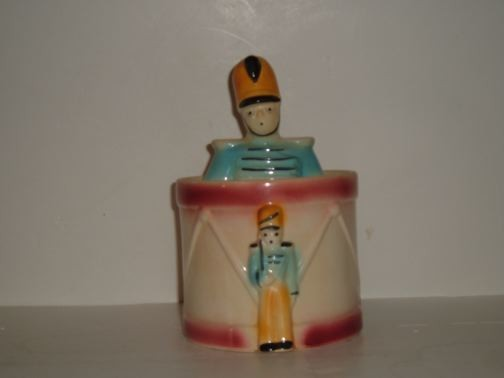 Drum Major cookie jar by Shawnee.
