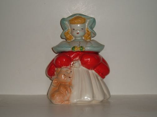 Goldilocks Cookie Jar by Regal China.