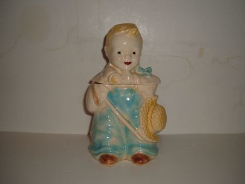 BRUSH - Little Boy Blue Cookie Jar