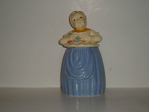 POTTERY GUILD - Little Girl cookie jar