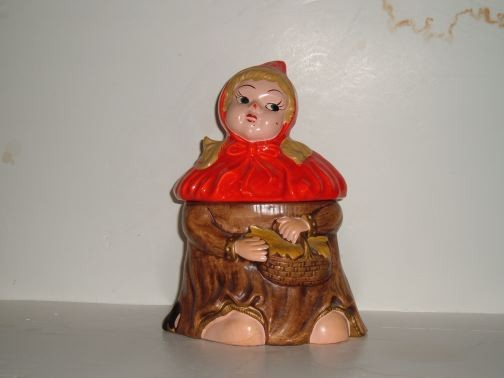 Little Red Riding Hood cookie jar by California Originals.