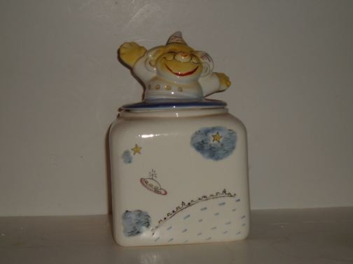 MISC/UNKNOWN - Jack in the Box cookie jar