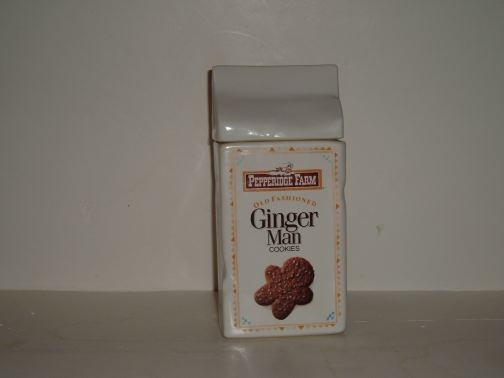 Pepperidge Farms Cookie Bag-Ginger Man Cookie Jar