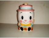JAPAN - Female Humpty Dumpty cookie jar