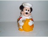 MICKEY MOUSE w/Flour Sack Cookie Jar