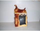 Blackboard Saddle Cookie Jar