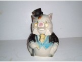 FORMAL PIG Cookie Jar by Brush
