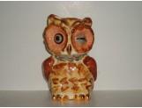 SHAWNEE - Owl w/Gold trim cookie jar