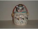 JAPAN - Cat Head Cookie Jar