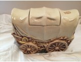 McCOY -  Covered Wagon Cookie Jar