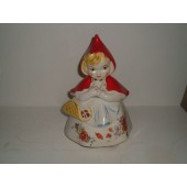 HULL - Little Red Riding Hood Open Basket Cookie Jar