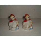 HULL - Little Red Riding Hood Salt and Pepper Shakers (Small)