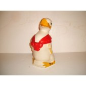 MISC-UNKNOWN - Duck with Red Bow cookie jar