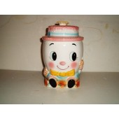 JAPAN - Female Humpty Dumpty cookie jar