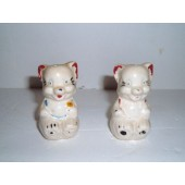 Polka Dot Bear Salt & Pepper Shakers