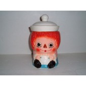 RAGGEDY ANN Cookie Jar.