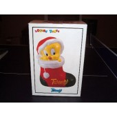 Tweety Christmas Stocking Cookie Jar