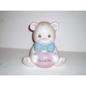 PRECIOUS MOMENTS BEAR Cookie Jar