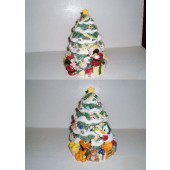 CHRISTMAS TREE Cookie Jar by Disney
