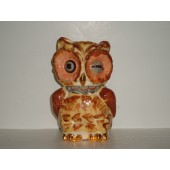 SHAWNEE - Owl w/Gold trim cookie jar
