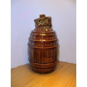 McCoy - Brown Cookie Barrel Cookie Jar