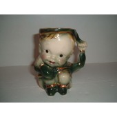 BRUSH - Peter Pan Mug with gold trim