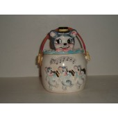 JAPAN - Cat Head Cookie Jar