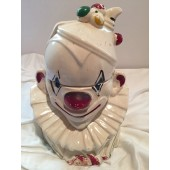 McCOY -  Clown Bust Cookie Jar