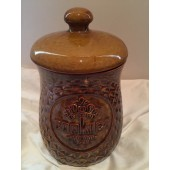 McCOY -  Brown Peanut Cookie Jar