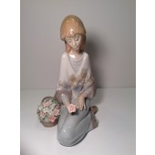 LLADRO FLOWER SONG NUMBER 7607