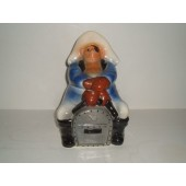 STARNES - PIRATE ON TREASURE CHEST - cookie jar