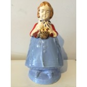 Red Riding Hood Cookie Jar by Pottery Guild
