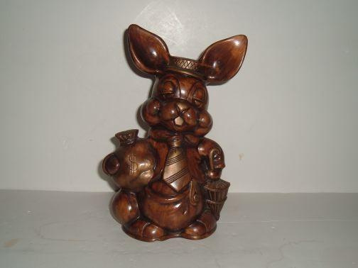MISC-UNKNOWN - Rabbit w/money bag and umbrella Bank
