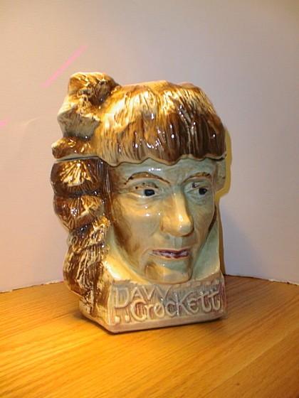 Davy Crockett Cookie Jar by McCoy